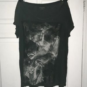 All Saints abstract top in L
